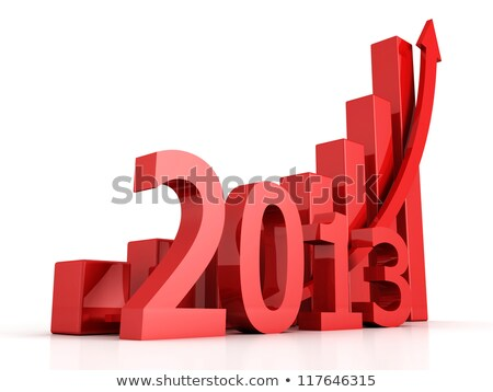 growth of year 2013	 Stock photo © 4designersart