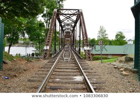 rail road bridge stock photo © fanfo