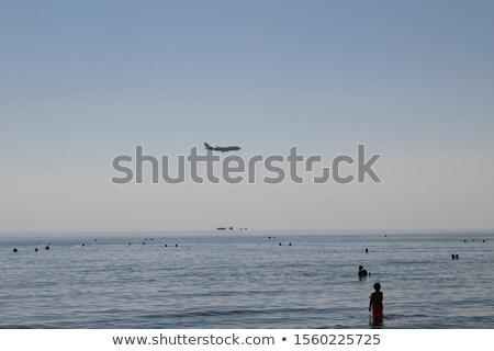 Oil tanker boat over blue Mediterranean sea  Stock photo © lunamarina