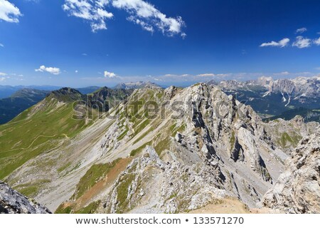 Lastei ridge and Selle pass Stock photo © Antonio-S