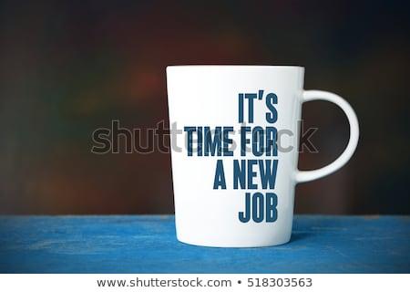 開始 · 新しい · 雇用 · 紙 - ストックフォト © lightsource