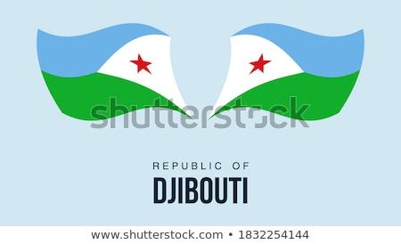 ayarlamak · düğmeler · Cibuti · parlak · renkli - stok fotoğraf © flogel