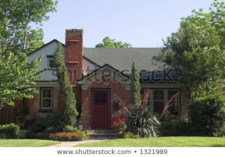 kulübe · bahçe · canlı · yaz · bitkiler - stok fotoğraf © backyardproductions
