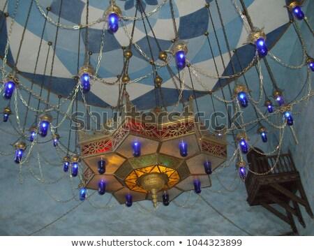 Techo patrón cúpula cadena patrón geométrico templo Foto stock © searagen