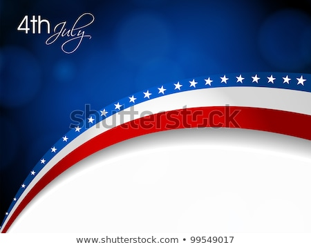 stars on blue striped background eps 10 stock photo © beholdereye