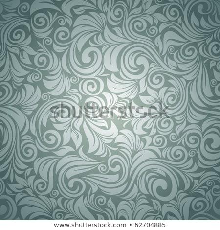 Abstrato florescer decorativo elementos fundo tecido Foto stock © anbuch