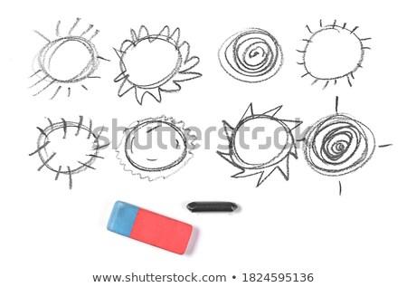 sun rays crosshatch pattern Stock photo © sirylok