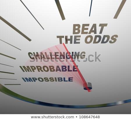 the reward beats the risk stock photo © 3mc