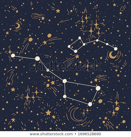 Abstract background, The big dipper star trails in the night sky Stock photo © shihina