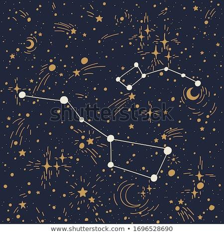 abstract · groot · star · nachtelijke · hemel · hemel · schoonheid - stockfoto © shihina