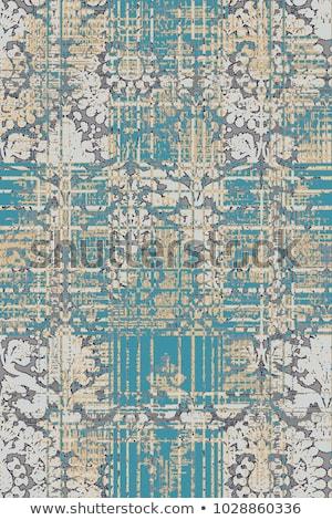 tapijt · detail · iraans · bloem · huis - stockfoto © tiero