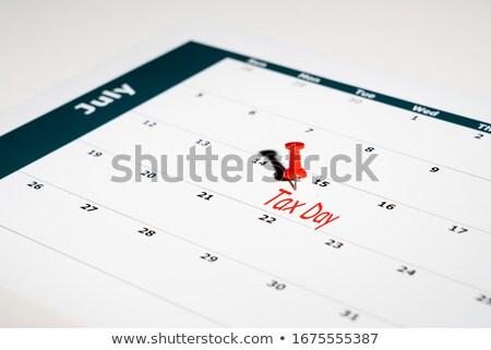calendar tax day stock photo © devon
