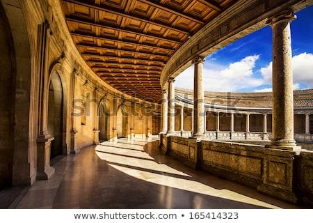ラ アルハンブラ宮殿 スペイン 表示 風景 庭園 ストックフォト © nito