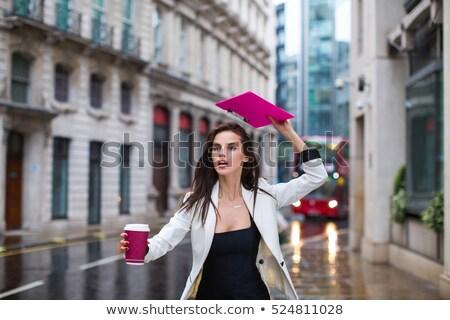 Art portrait femme humide cheveux femme sexy Photo stock © majdansky