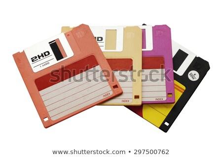 öt · szín · öreg · számítógép · háttér · oktatás - stock fotó © ozaiachin