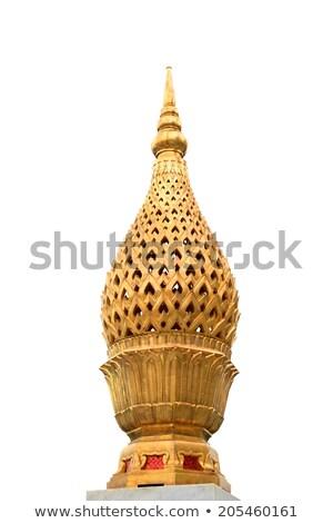 Miniature stupa at Wat Traimit Stock photo © tang90246