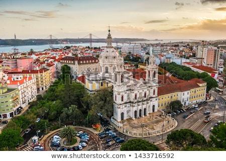 Basilica de Estrela, Lisbon Stock photo © joyr