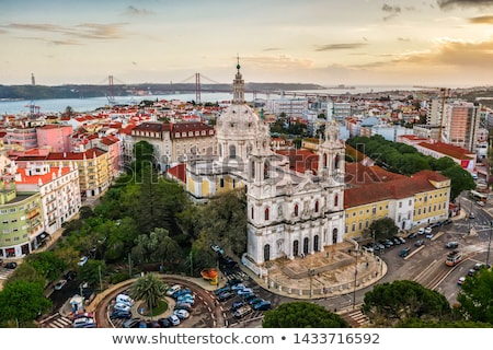 базилика Лиссабон интерьер королевский сердце Сток-фото © joyr