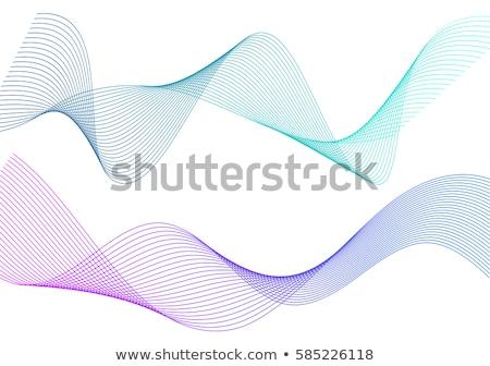 Abstract linee colore grigio tecnologia spazio Foto d'archivio © olgaaltunina