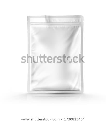 boş · kağıt · çanta · şablon · vektör · gerçekçi · alışveriş - stok fotoğraf © unkreatives