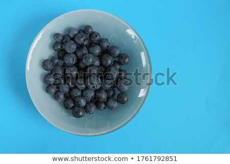 Fraîches bleuets bleu fruits vitamine peuvent Photo stock © jaffarali
