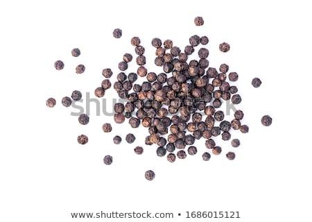 Top view of Organic Black pepper (Piper nigrum) Stock photo © ziprashantzi