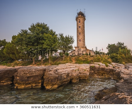 Lighthouse in Savudrija, Istria, Croatia Stock photo © Kayco
