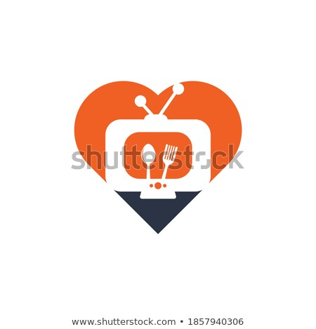 love channel logo online tv concept stock photo © ikopylov