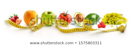 sok · gyümölcsök · firka · stílus · étel · kéz - stock fotó © bluering