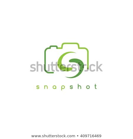 メディア · レンズ · ロゴタイプ · カメラ · ベクトル · 芸術 - ストックフォト © vector1st