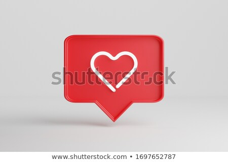 Stockfoto: 3D · liefde · menigte · mensen · vorm