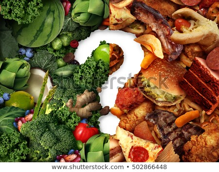 Nutrition Confusion Idea Stock photo © Lightsource