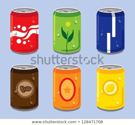 Limone soda alluminio può illustrazione sfondo Foto d'archivio © bluering