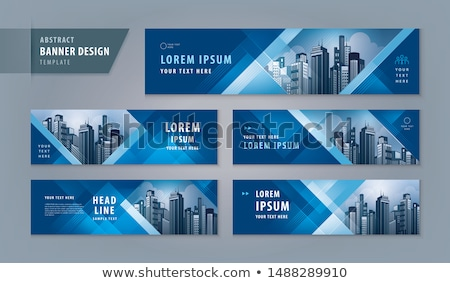 blue business banners set stock photo © sarts