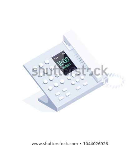 isometric telephone Stock photo © AnatolyM