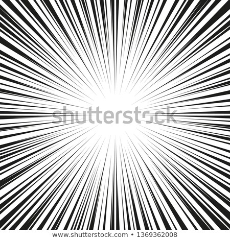Abstract comic book flash explosion radial lines background. Stock photo © fresh_5265954