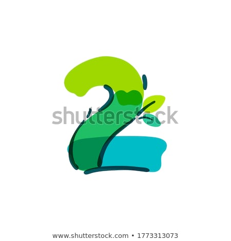 spring handwritten with green marker stock photo © ivelin