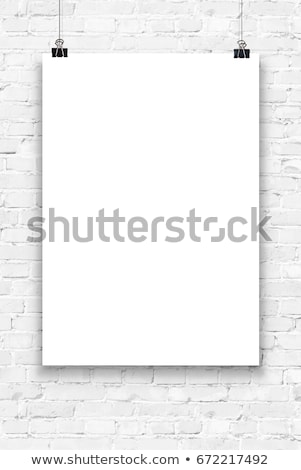 A2 White Poster Mock-up Stock photo © molaruso