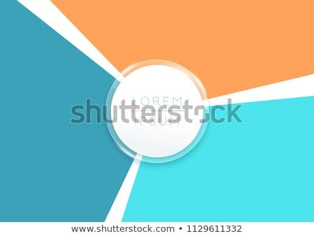 színes · három · nyitva · körömlakk · üvegek · különböző - stock fotó © Fisher