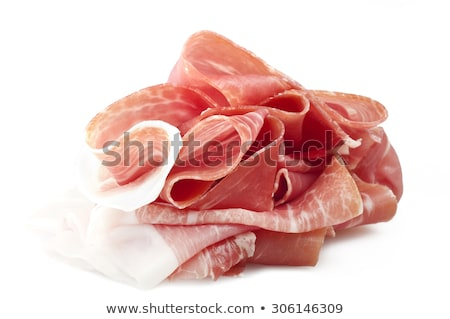 parma ham with fresh fig Stock photo © M-studio