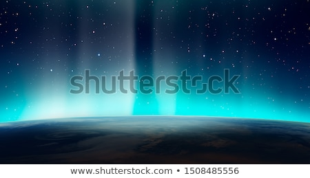light and the blue planet stock photo © romvo