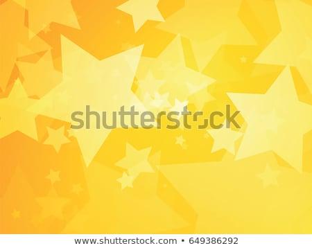 Yellow background stars Stock photo © rogistok