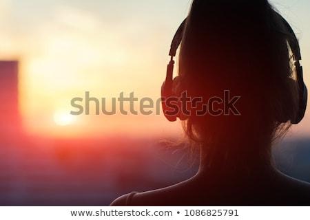 Music head. Stock photo © Fisher