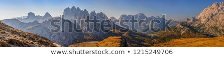 The Sextener Dolomites formation Stock photo © IS2