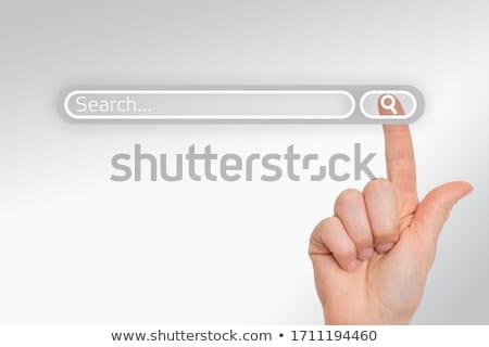 手 · 指 · キーを押します · キー · ビジネス · 男性 - ストックフォト © tashatuvango