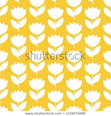 Arte flores sin costura vector floral patrón Foto stock © RedKoala