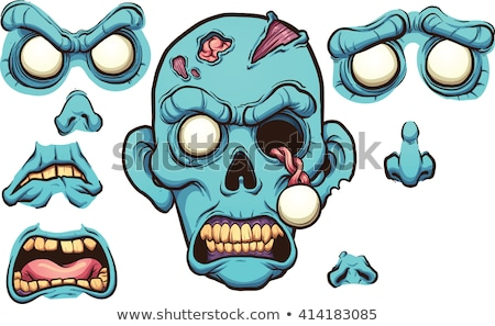 Sad Cartoon Zombie Stock photo © cthoman
