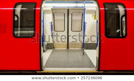Görmek Londra yeraltı şehir seyahat kentsel Stok fotoğraf © vwalakte