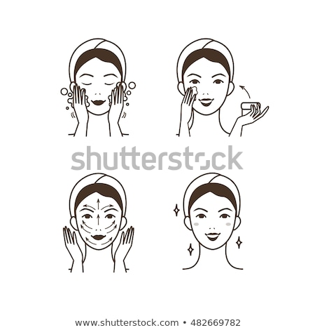 massage techniques and methods icons set vector stock photo © robuart