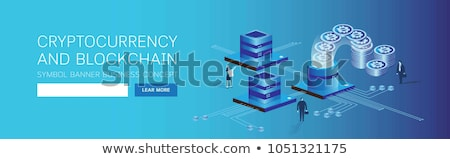 Izometryczny 3D banner karty kredytowej Zdjęcia stock © RAStudio
